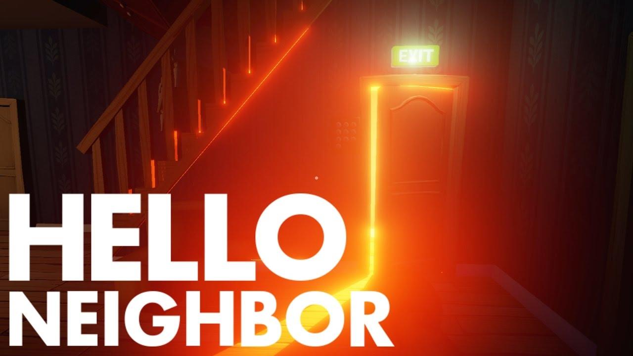 Hello Neighbor Ending What S Behind The Door Pre Doovi