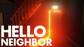 """Hello Neighbor ENDING! """"What's Behind the Door?!"""" (Pre-Alpha ENDING!)"""