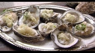 Oysters With Apple Mignonette
