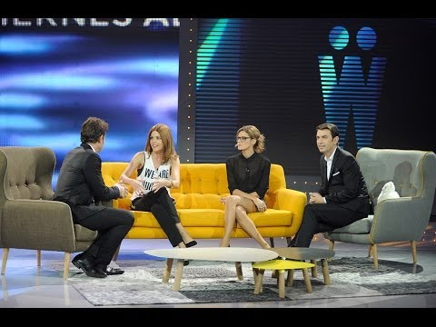 Amaia Salamanca y Manuela Velasco: