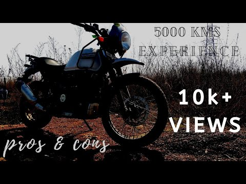 My 5000+ kms Experience with Royal Enfield Himalayan Abs 2019