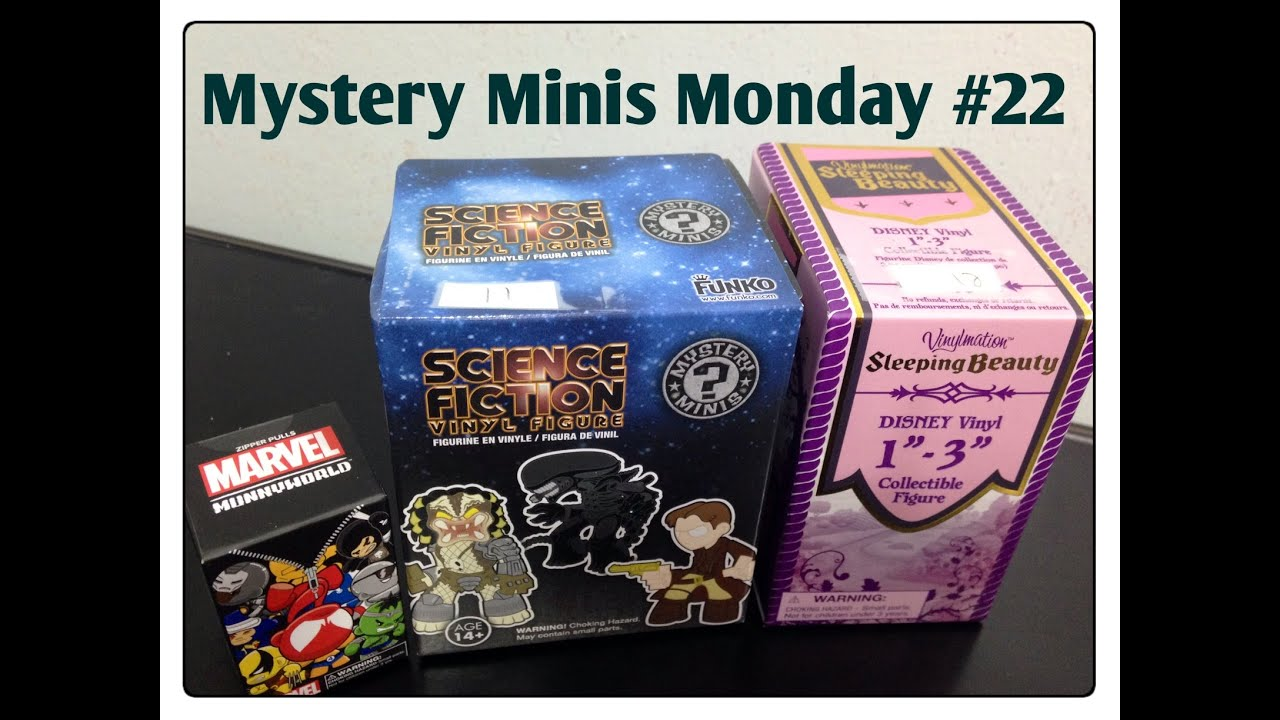 Blind Bags Amp Mystery Minis Monday 22 Sci Fi Mystery Minis