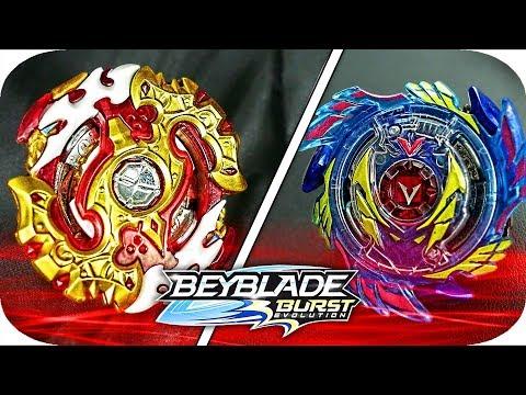 Spryzen Requiem VS Genesis Valtryek V3!!    Beyblade Burst Evolution Battle    Hasbro Beyblade