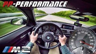 BMW M2 450 HP AUTOBAHN POV 290 km/h ACCELERATION PP Performance by AutoTopNL