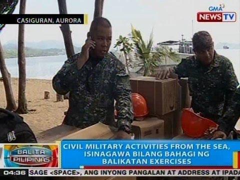 BP: Civil military activities from the sea, isinagawa bilang bahagi ng Balikatan Exercises
