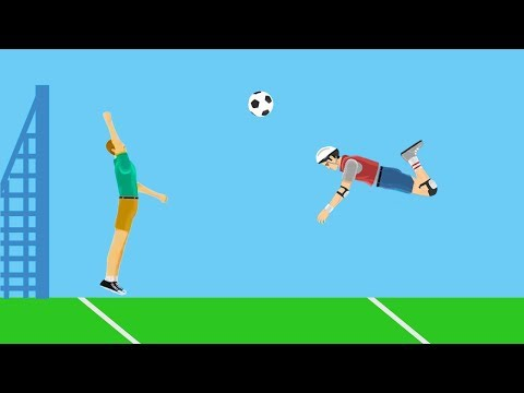 99% IMPOSSIBLE FOOTBALL GOAL! (Happy Wheels #106)