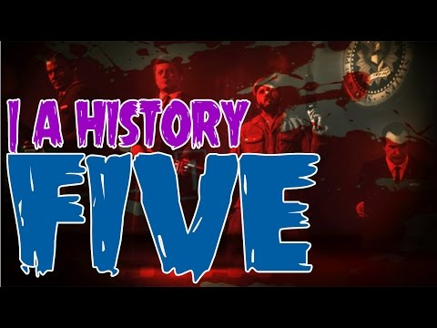 FIVE | A History (Call of Duty Zombies Maps - Origins, Background, Story, & Evolution)