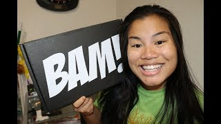 2017 October BAM! Box Unboxing