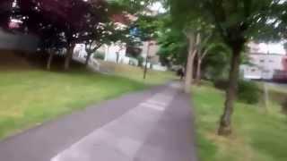 札幌 澄川1号用水路自転車道路