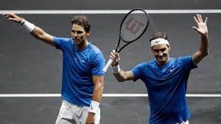 The Day Federer and Nadal Played Doubles Together (60FPS)