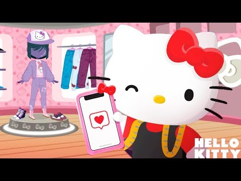 Hello Kitty Fashion Star - Hello Kitty's New Fashion Boutique - Play Style Dress Up Games For Girls