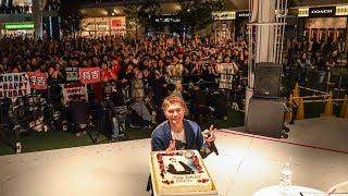 自身の誕生日に行われたEXILE SHOKICHI「Futen boyz」リリースイベント!...