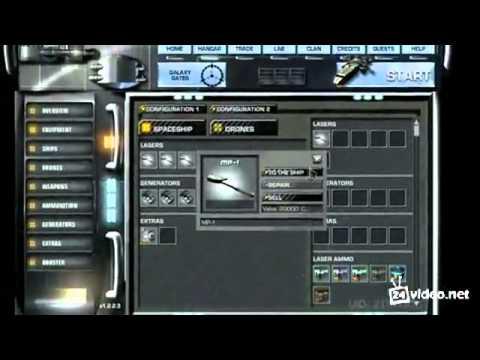 Видео Космическая стрелялка играть онлайн