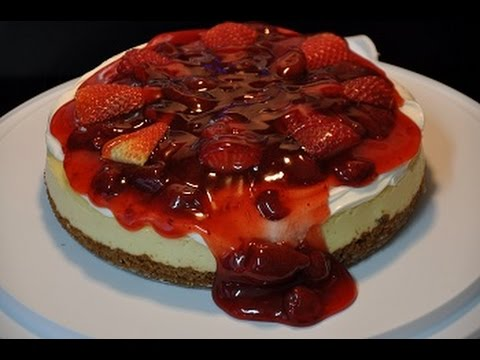 Awesome Strawberry Cheesecake