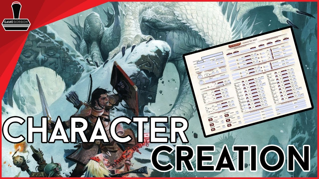Pathfinder 2nd Edition Playtest Character Creation | GameGorgon