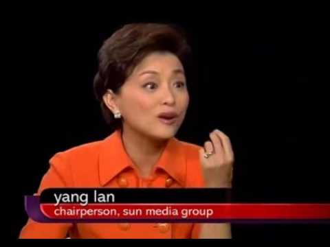 Charlie Rose Intimate interview with     Yang Lan 杨澜
