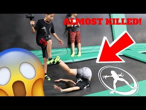 CRAZY Kids At Rockin' Jump! (Almost Killed)