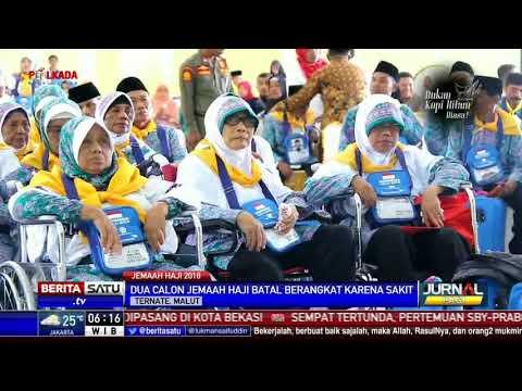 Pemprov Maluku Utara Berangkatkan Ribuan Calon Haji