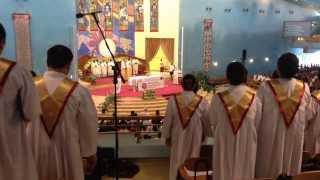 Kyrie Eleison ( by Augustus Apollos ) - Holy Rosary Grand Choir, Doha Qatar