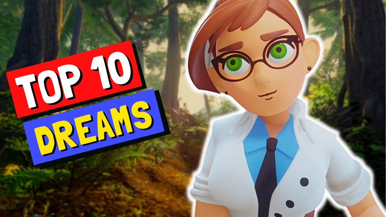 Dreams PS4 Best Creations | Top 10 Best Dreams #43 | Dreams PS5 Gameplay