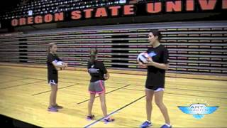 Serving For Beginners - At Home Drills