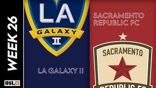 LA Galaxy II vs. Sacramento Republic FC: August 31st, 2019