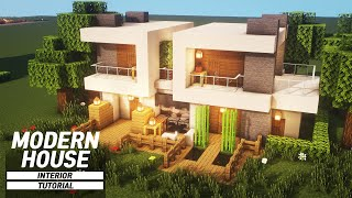 Minecraft: How To Build A Modern House Tutorial :: Small Modern House #76