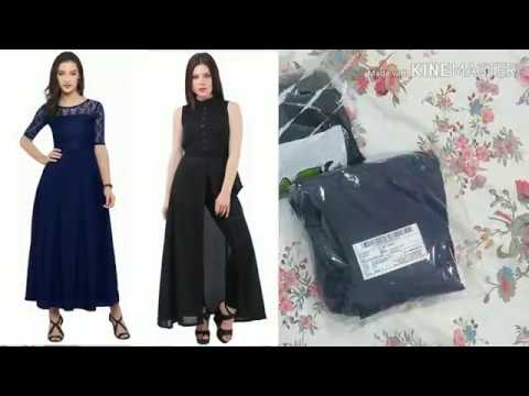 Unboxing Maxi Gown dresses from Amazon|dress online shopping