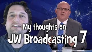 My thoughts on JW Broadcasting 7, with Mark Sanderson (tv.jw.org) - Cedars' vlog no. 77