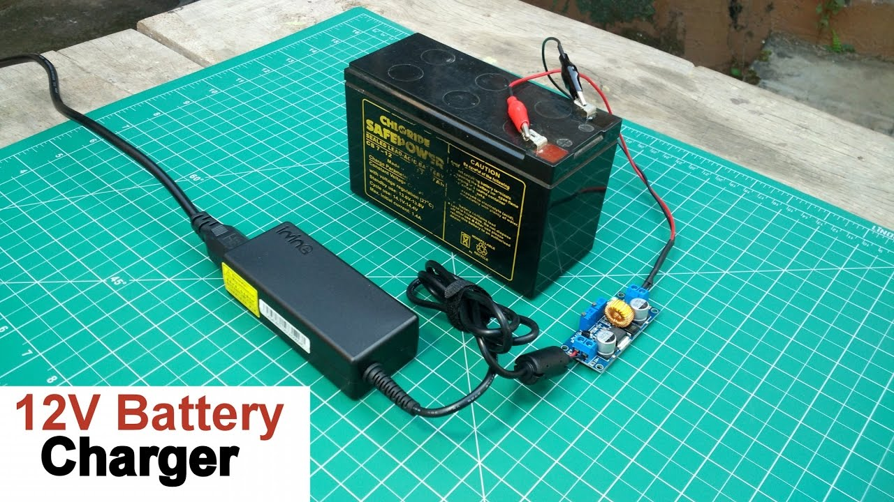 Component Speakers To Amp Wiring Diagram How To Make A 12 Volt Battery Charger Youtube