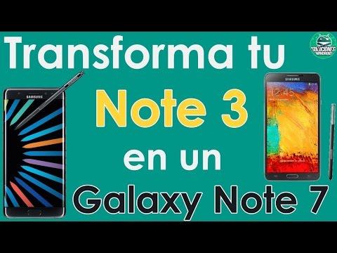 ¡ROM! Transforma Tu Galaxy Note 3 En Un Galaxy Note 7