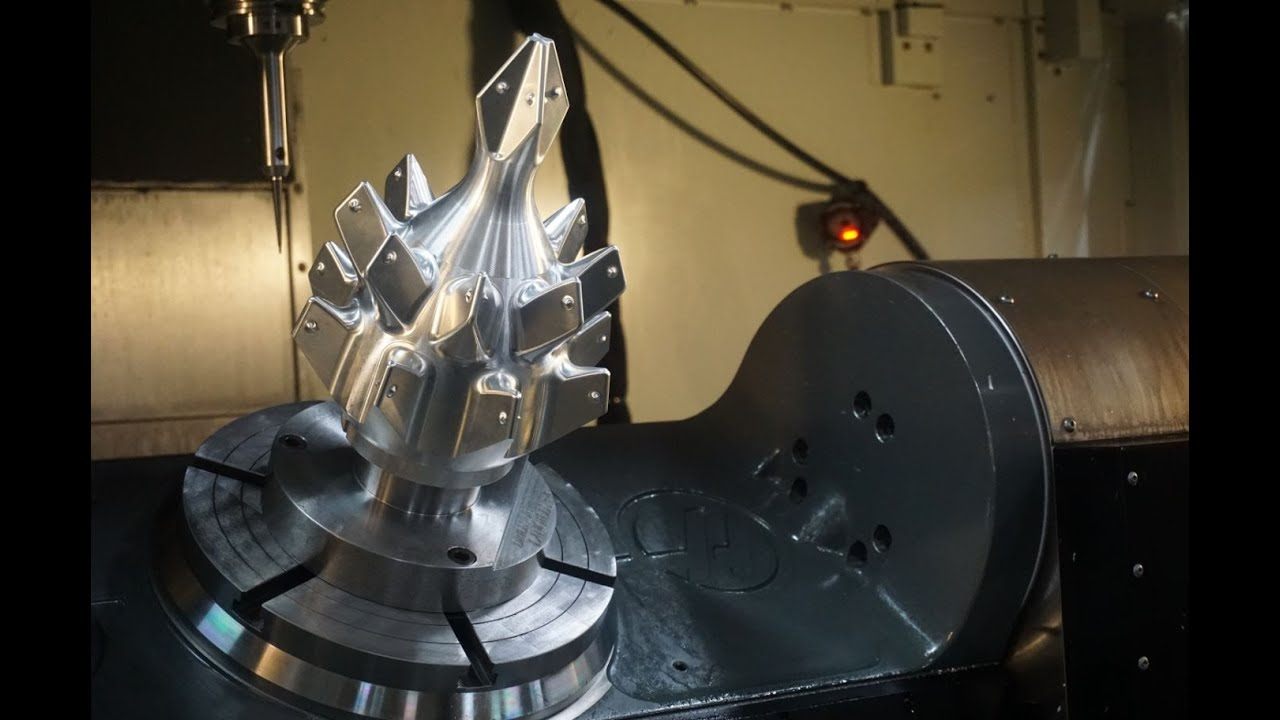 5 Axis Machining Compilation Highlights