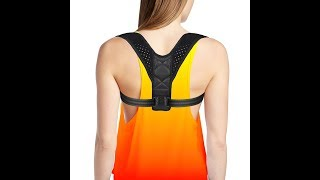 4well Posture Corrector rounded shoulders for Women. How to put on and adjust