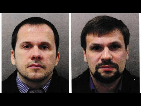 Two Russians charged in Skripal Novichok poison case