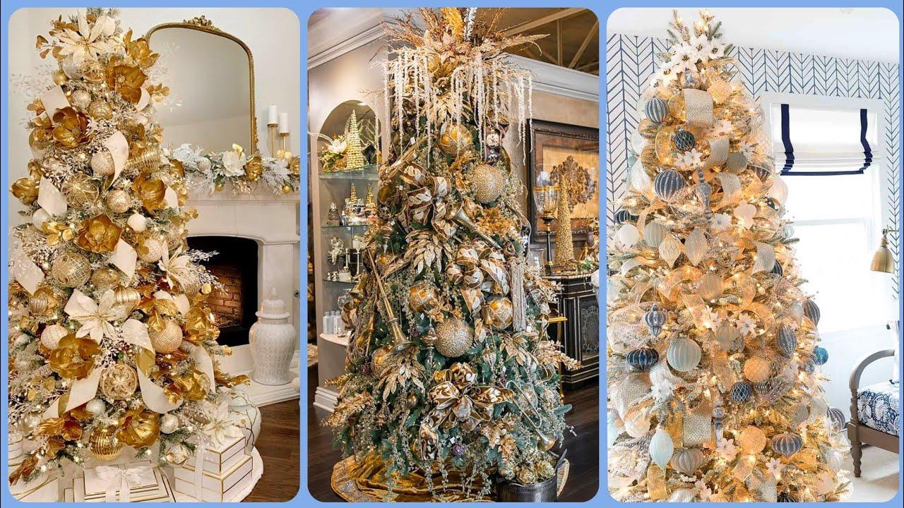 Valle Monte Christmas Tree Elegance 2021 Vidoe Top Luxury Christmas Decorations Ideas 2020 2021 Stylish Trees Decor Design S Youtube