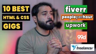 10 Best Fiverr, Upwork, Freelancer Gigs/Services for HTML, CSS Developer HINDI/URDU screenshot 2