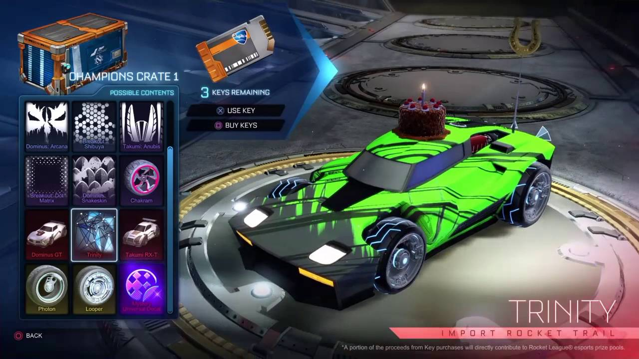 Will Import Cars Get Decals Rocket League