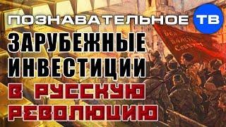 Зарубежные инвестиции в русскую революцию (Познавательное ТВ, Михаил Величко)