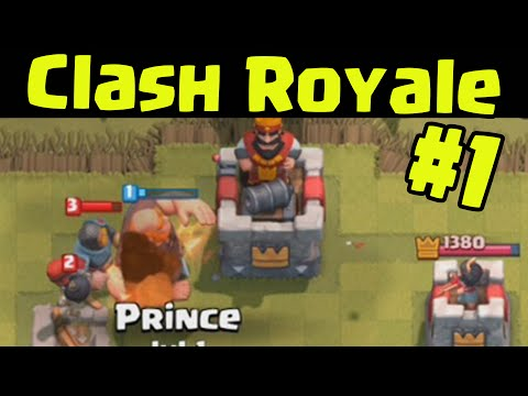 Clash Royale - NEW GAME BY SUPERCELL Walkthrough Let's Play Gameplay Multiplayer and Intro (Part 1)