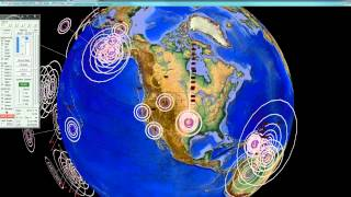 "2/18/2014 -- Loud ""Booms"" heard / felt across Oklahoma -- Earthquake Unrest showing Globally"