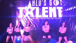 SISTOM - 'Hush' + 'Change' + 'Abracadabra' @ HLU's Got Talent Semifinal