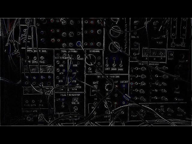 Modular Synth Bassline Patch d[o-o]b