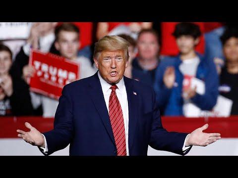 'Sleepy Joe!': Donald Trump mocks Joe Biden's gaffes during rally