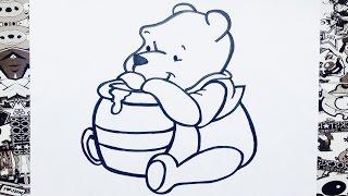 Como dibujar a winnie pooh | how to draw winnie the pooh