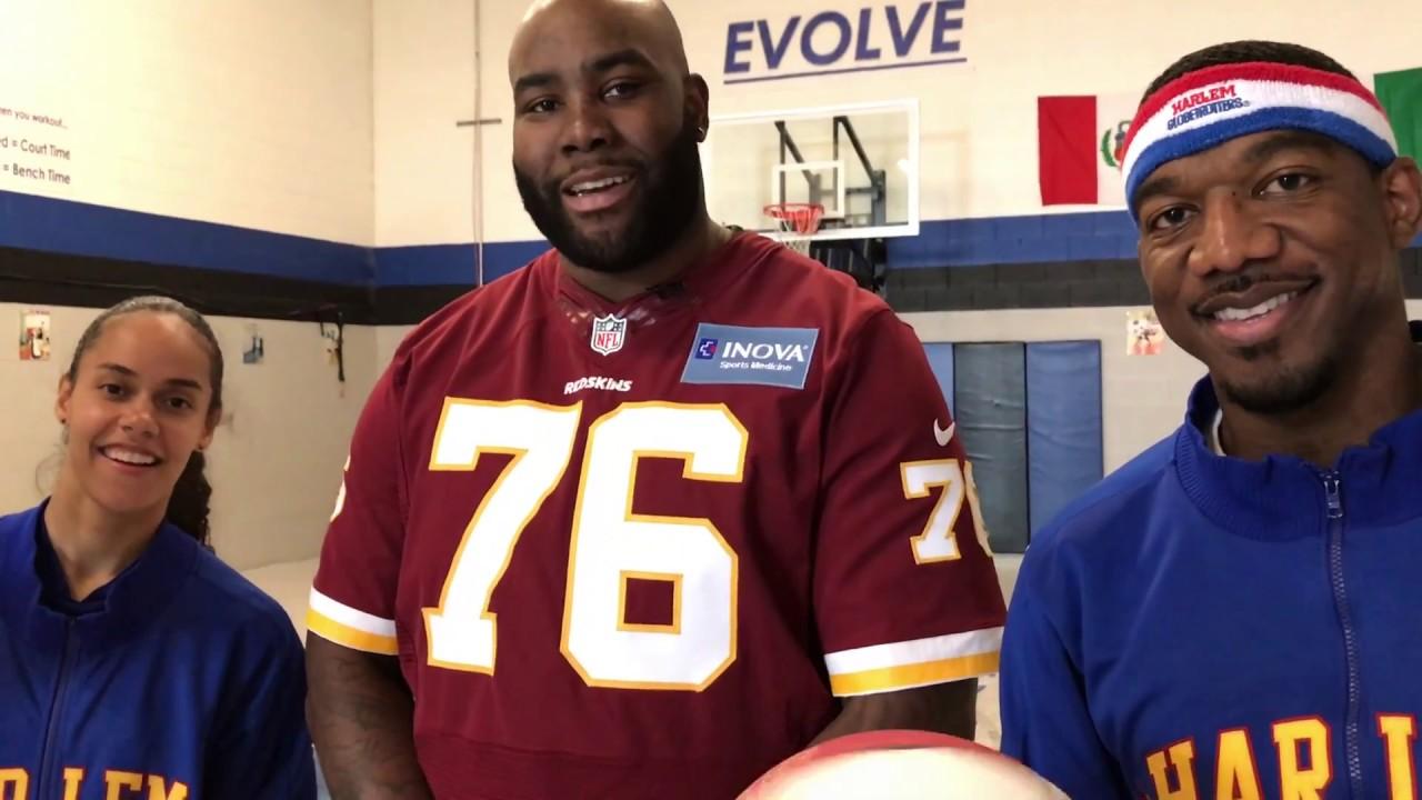 Washington Redskins Morgan Moses