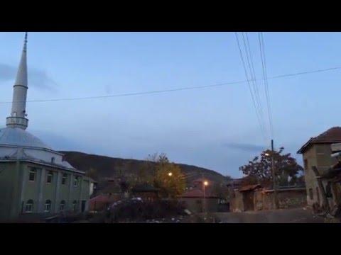 Cinler yüzünden terk edilen köy...!...