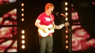 Ed Sheeran Grade 8  Vancouver Queen Elizabeth Theatre October 4, 2012 Thumbnail