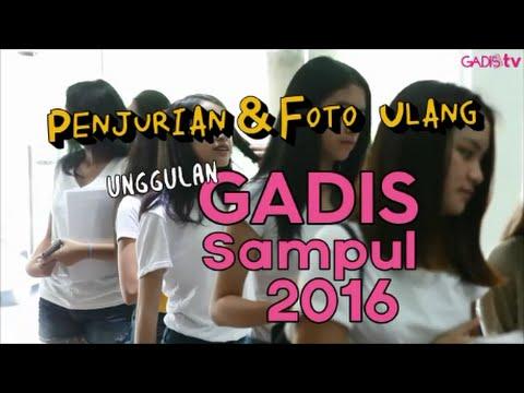 Penjurian & Foto Ulang Unggulan GADIS Sampul 2016