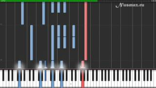Nino Rota - The godfather's waltz (OST Godfather) Piano Tutorial (Synthesia + Sheets + MIDI)
