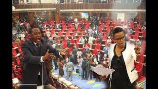 Balaa lililotokea Bungeni leo, Halima Mdee, Msigwa mbele